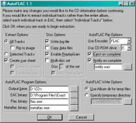 AutoFLAC GUI